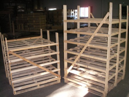 Greenhouse Shipping Racks 2
