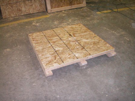Heat Treated Wood Crate