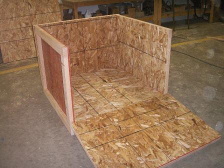 Heat Treated Wood Crate 3
