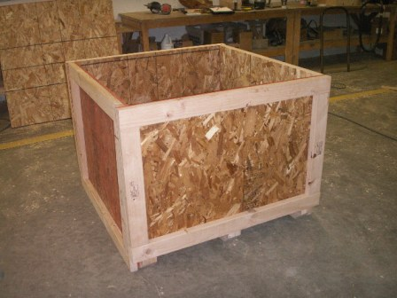 Heat Treated Wood Crate 4