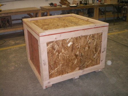Heat Treated Wood Crate 5